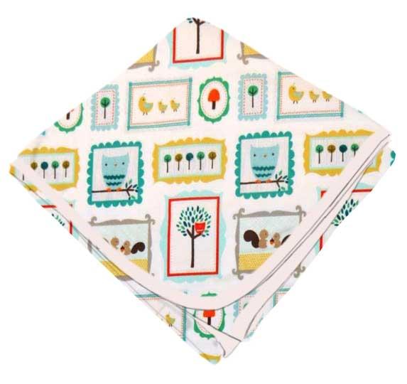 SheetWorld Flannel Receiving Blanket 30