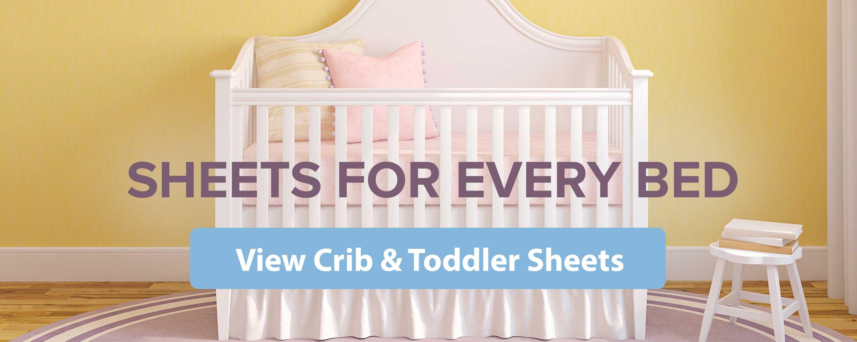 Crib Sheets Baby Sheets Toddler Sheets Sheetworld