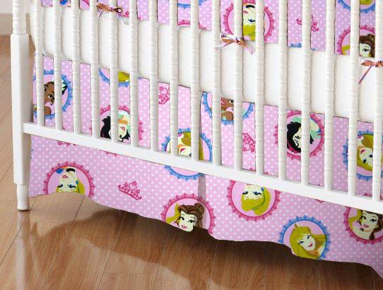 Crib Skirts – Crib Skirt – Princess Circle – Tailored