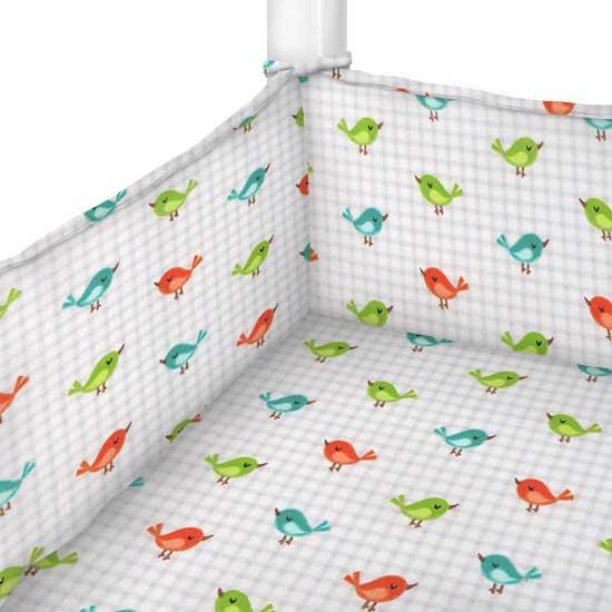 Birdies Portable Mini Crib Sheets Sheetworld
