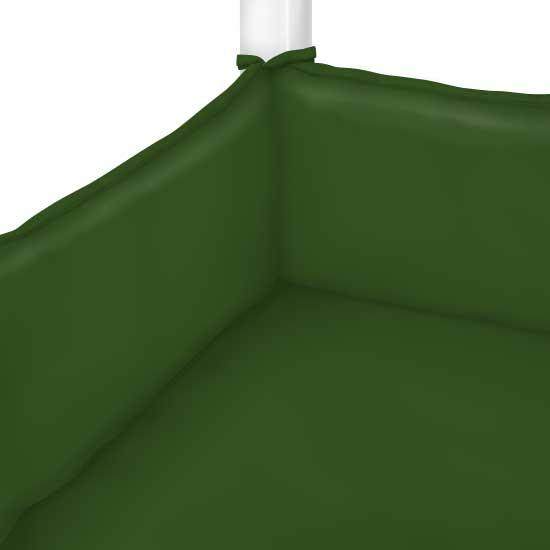 Flannel Olive Green Portable Mini Crib Sheets Sheetworld