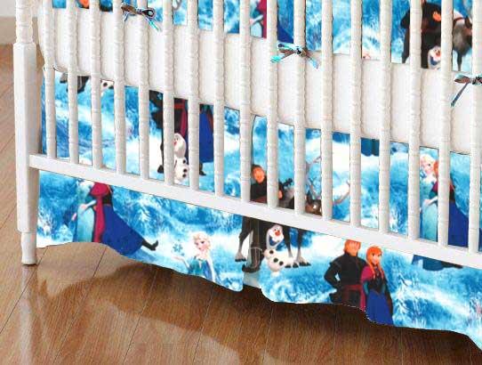 Frozen Scene Portable Mini Crib Sheets Sheetworld