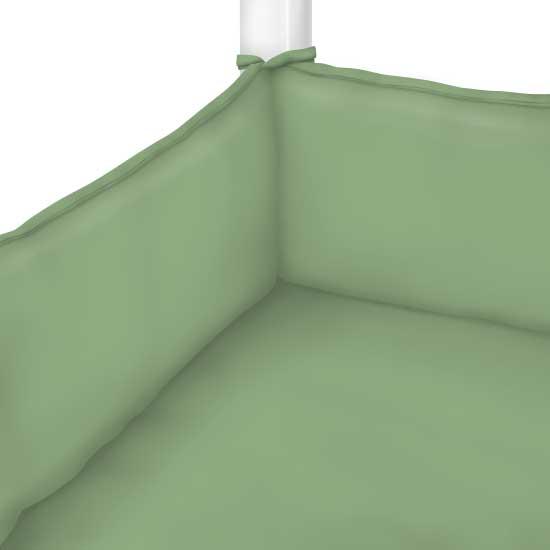 Sage Woven Portable Mini Crib Sheets Sheetworld