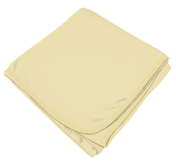 Pale Yellow Receiving Blanket Baby Blankets Sheetworld