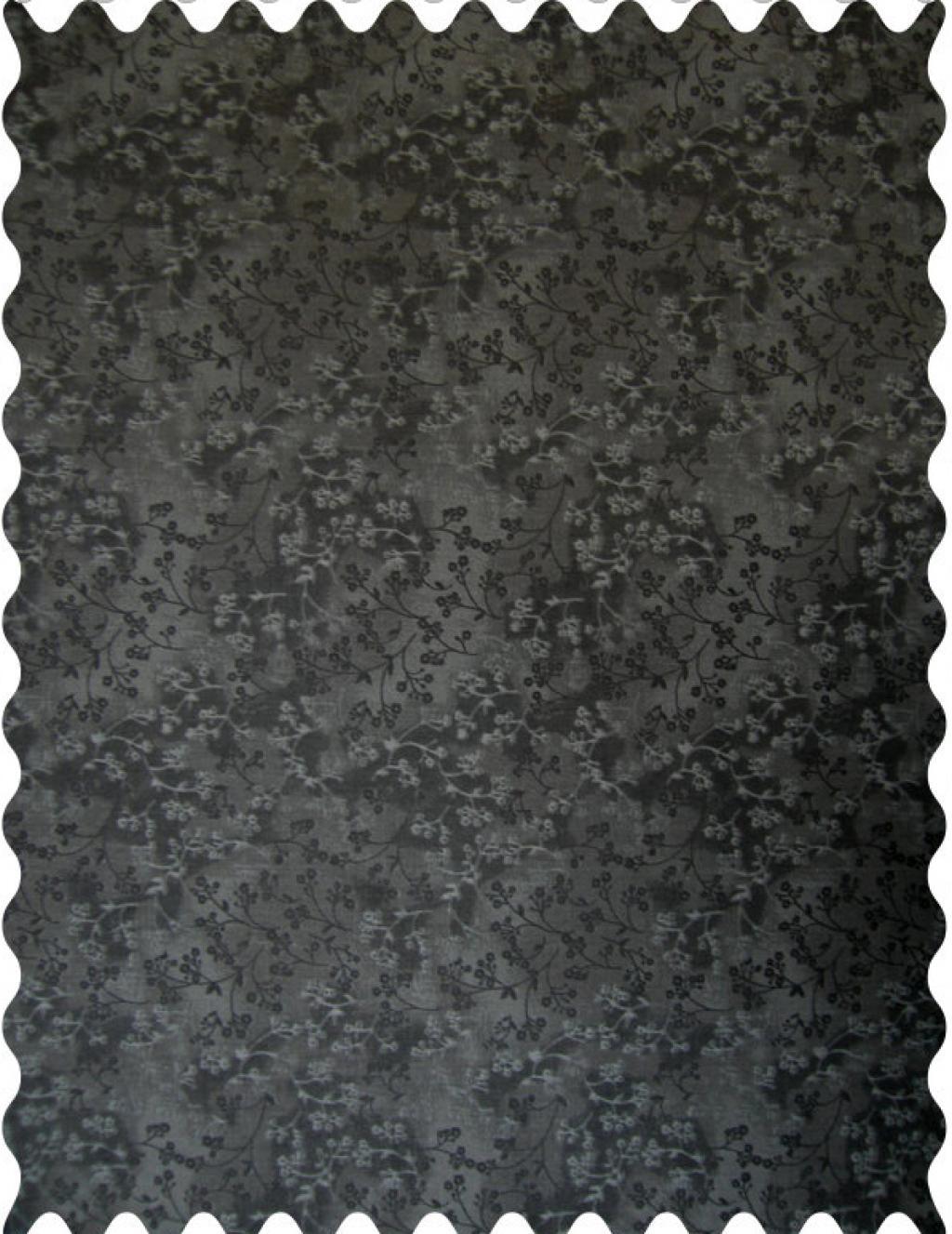 Charcoal Grey Floral Fabric Fabric Shop Sheets Sheetworld