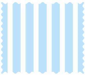 Fabric Shop – Pastel Blue Stripe Woven Fabric – Yard