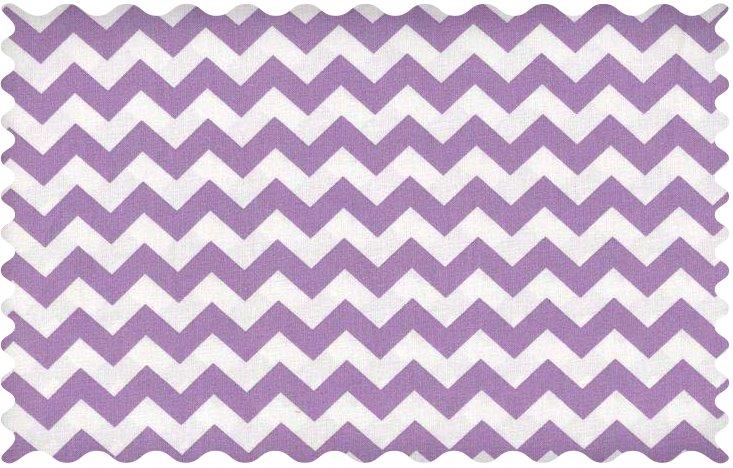Fabric Shop – Lilac Chevron Zigzag Fabric – Yard