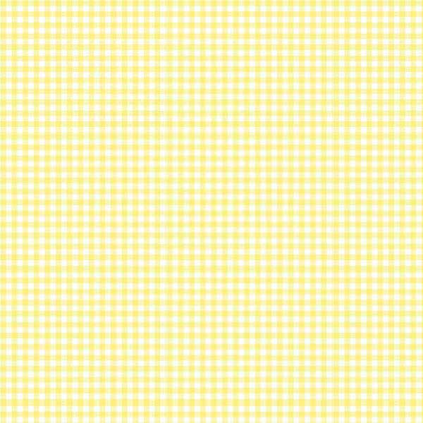 European Crib – Pastel Yellow Gingham Woven – Fitted