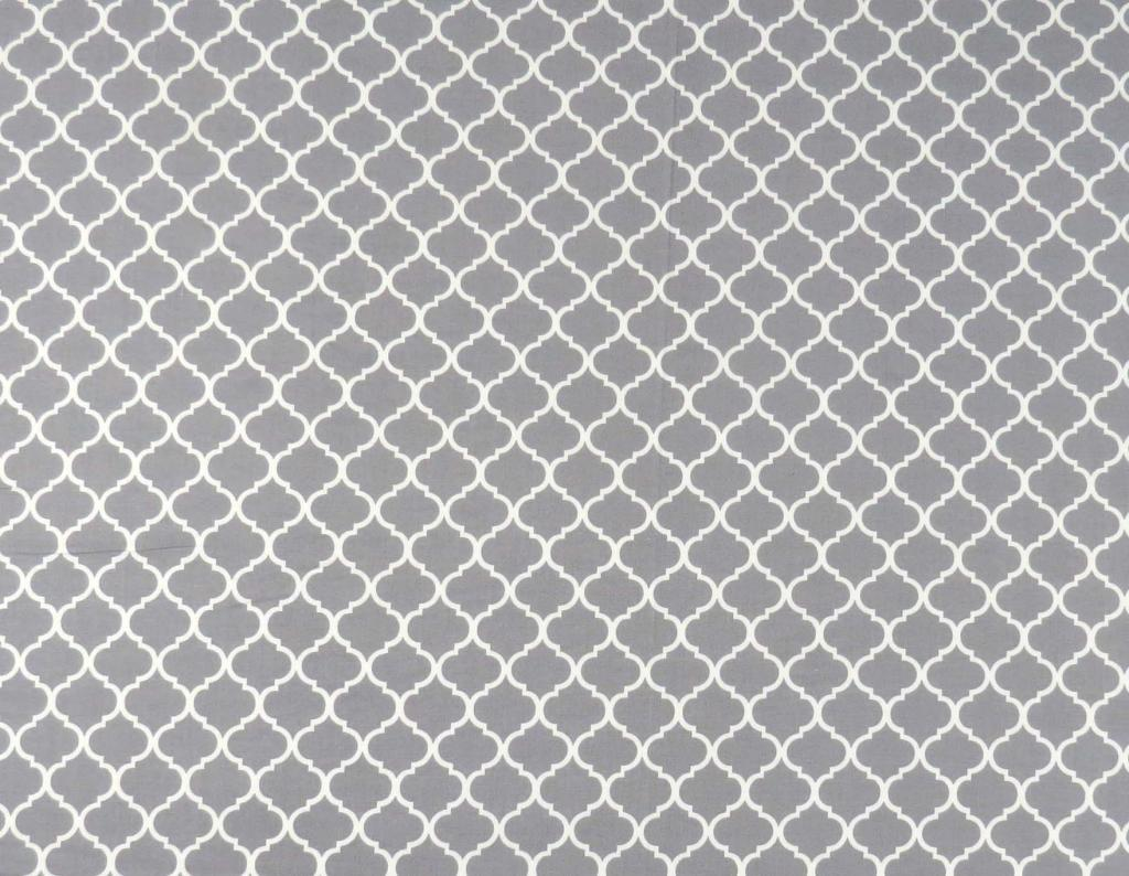 Grey Quatrefoil Crib Toddler Sheets Sheetworld