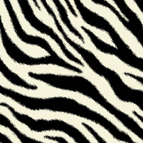 Oval (Stokke Mini) – Zebra – Fitted  Oval