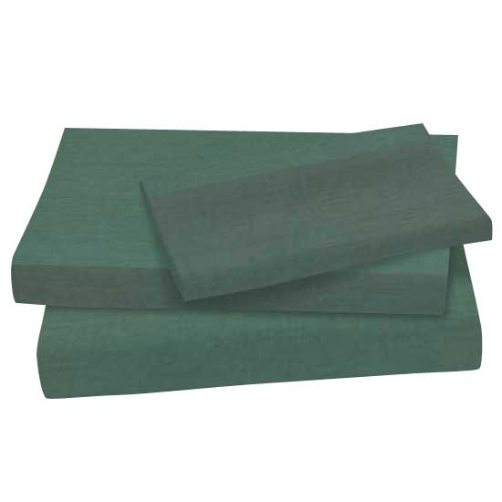Cotton | Sheet | Green | Hunt | Twin | Set