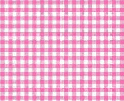 Cradle - Primary Pink Gingham Woven - Fitted