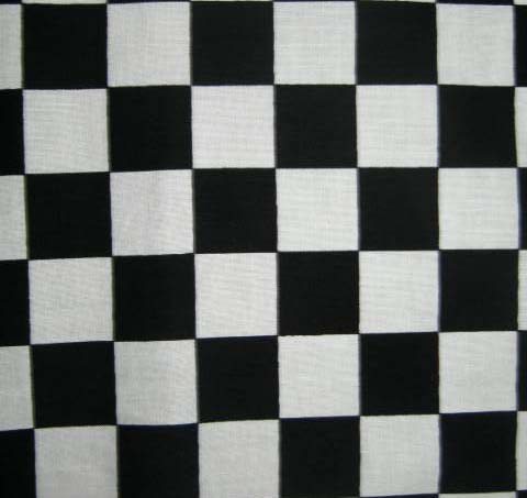 baby bedding - Pack N Play (Graco) - Black & White Checkerboard - Fitted - Pack N Play Sheets