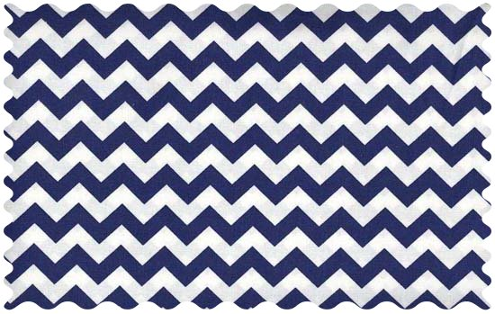 Fabric Shop – Royal Blue Chevron Zigzag Fabric – Yard