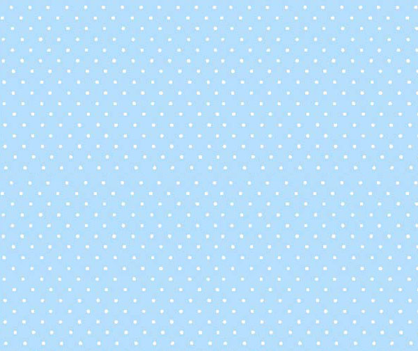 Crib / Toddler - Pastel Blue Pindots Woven - Flat