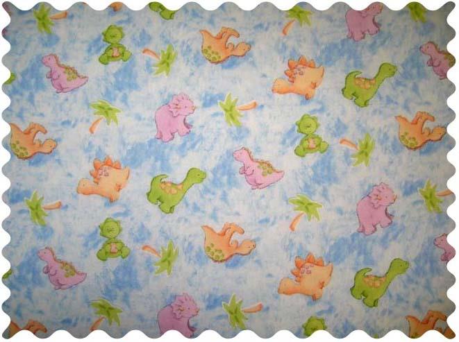 Fabric shop baby dino fabric yard baby crib sheets for Baby dinosaur fabric