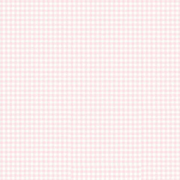 Oval Crib (Stokke Sleepi) – Pastel Pink Gingham Woven – Fitted  Oval