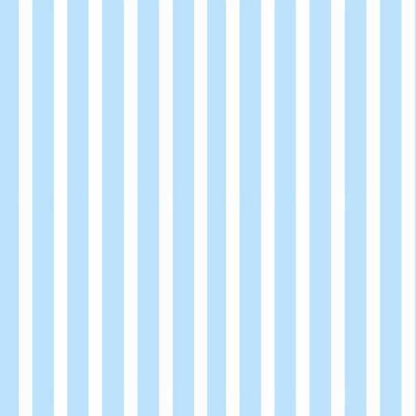 Travel Crib Light (Fits BabyBjorn) – Pastel Blue Stripe Woven – Fitted