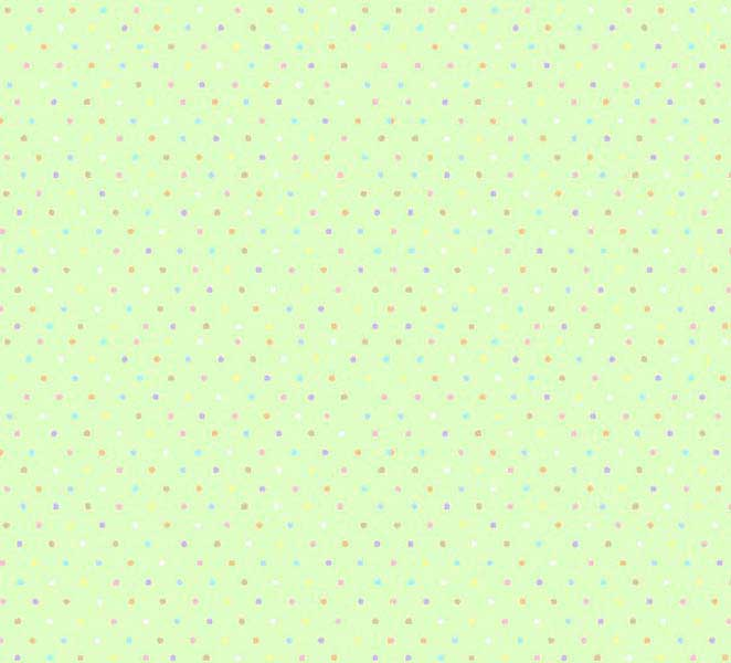 Square Playard (Graco) – Pastel Colorful Pindots Mint Woven – Fitted