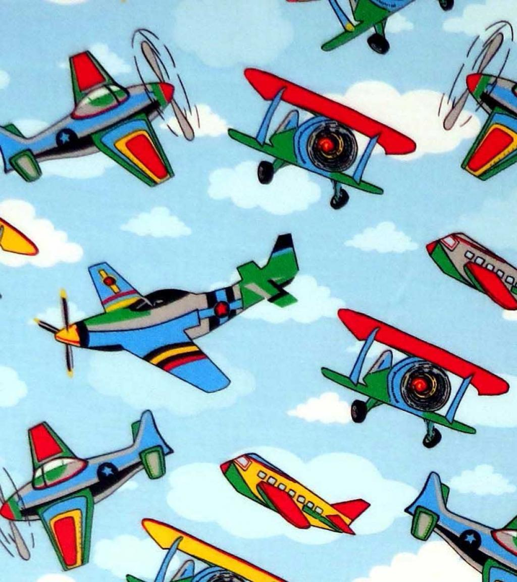 Kiddie Airplanes Crib Toddler Sheets Sheetworld
