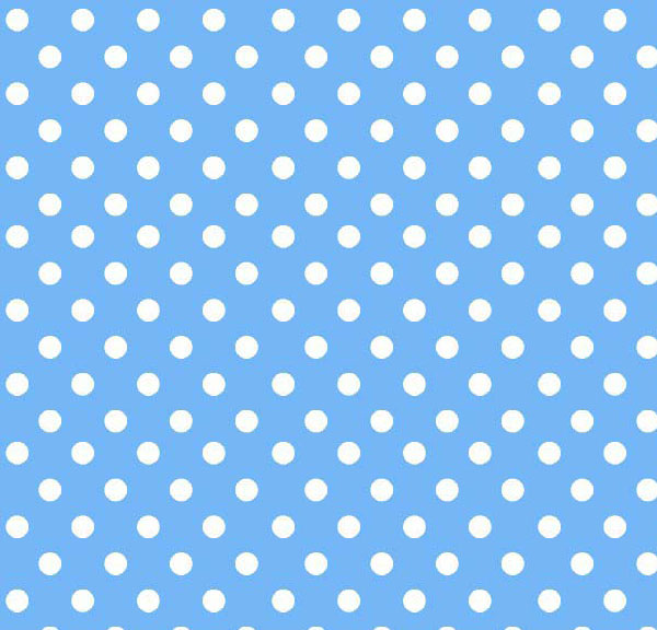 Cradle - Primary Polka Dots Blue Woven - Matching Comforter