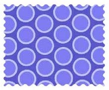 Fabric Shop – Primary Bubbles Blue Woven Fabric – Yard