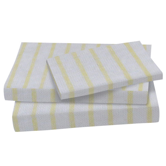 Yellow Stripes Jersey Knit Twin Twin Sheet Sets Sheets