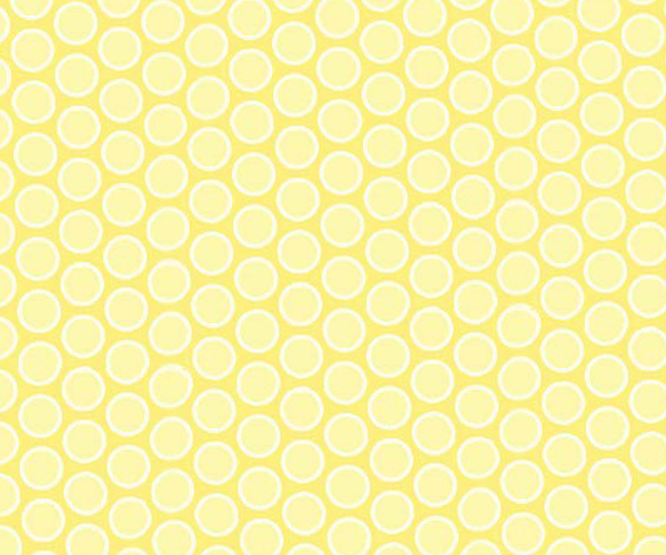 Portable / Mini Crib - Pastel Yellow Bubbles Woven - Matching Comforter