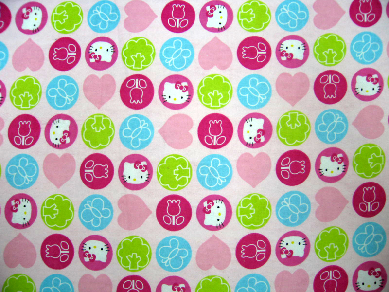 Cradle – Hello Kitty Circles – Fitted