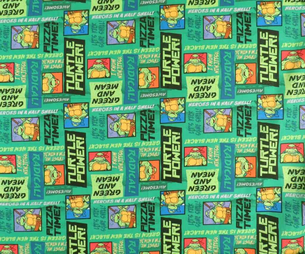 Ninja Turtles Pizza Time Crib Toddler Sheets Sheetworld