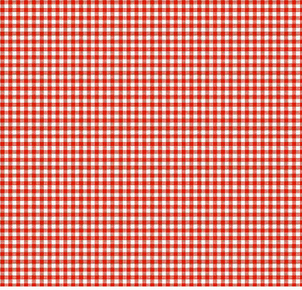 European Crib – Primary Red Gingham Woven – Fitted