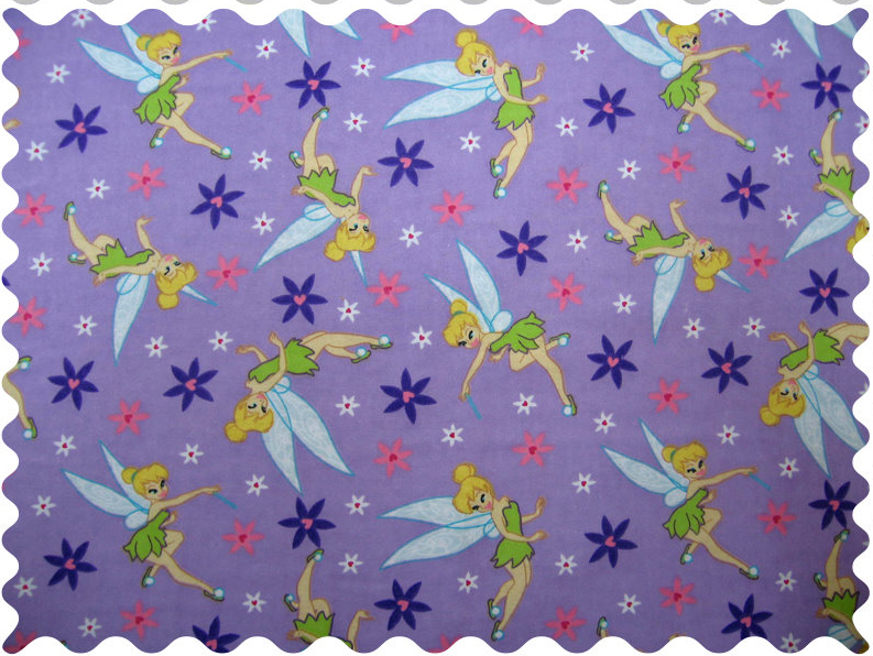 Fabric Shop – Tinkerbell Daisy Fabric – Yard