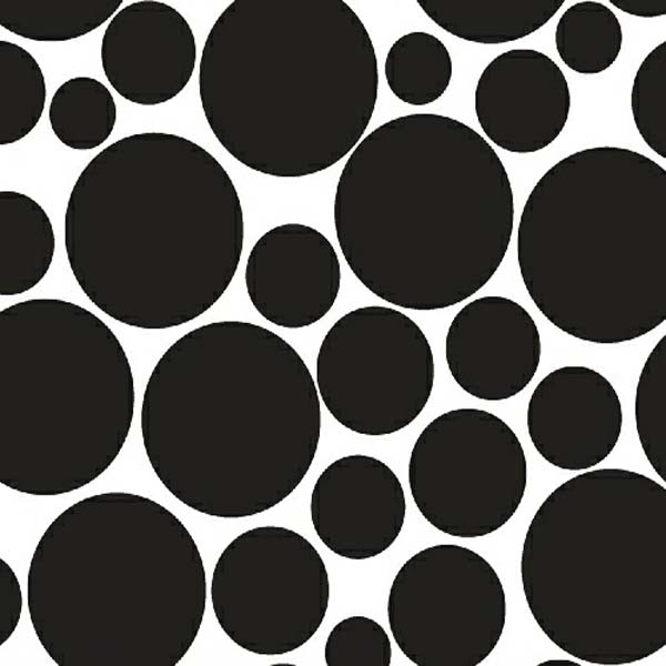 baby bedding - Portable / Mini Crib - Black On White Dots - Fitted (24x39x3) - Portable / Mini Crib Sheets