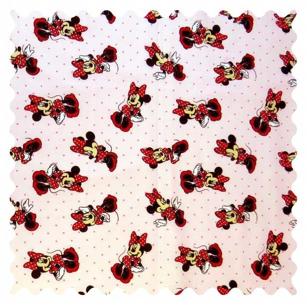 Minnie Mouse Pink Fabric Fabric Shop Sheets Sheetworld