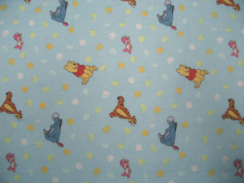 Bassinet – Pooh & Friends Blue – Fitted