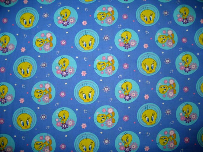SheetWorld Fitted Stroller Bassinet Sheet - Tweety - 13