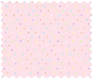 Fabric Shop – Pastel Colorful Pindots Pink Woven Fabric – Yard