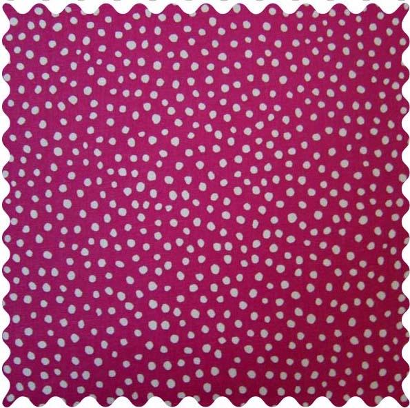Fabric Shop – Hot Pink Fun Dots Fabric – Yard