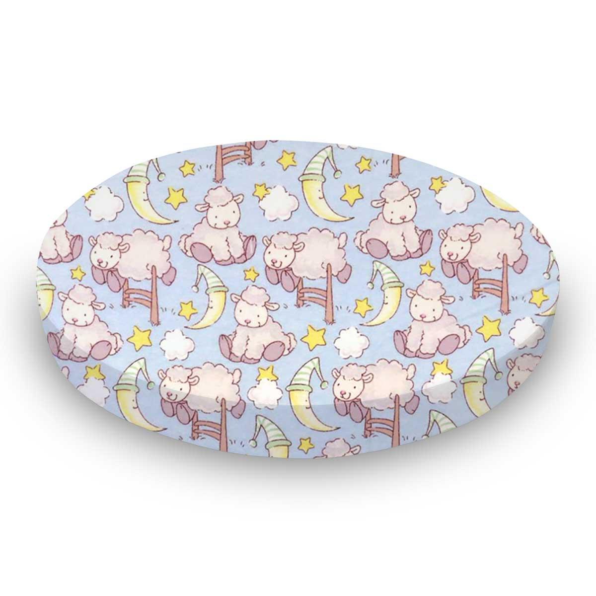Baby Lambs Blue