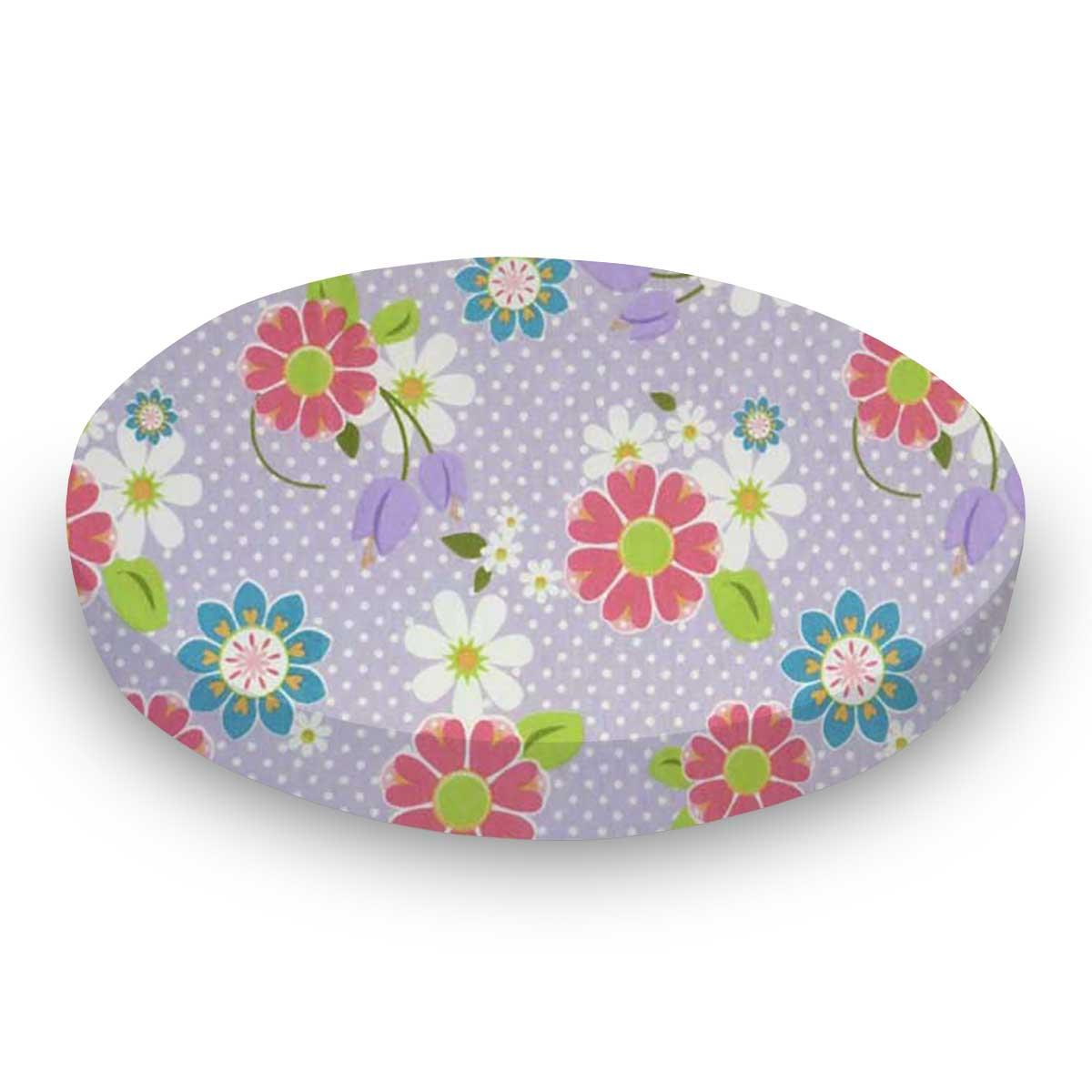 Floral Lavender Dot