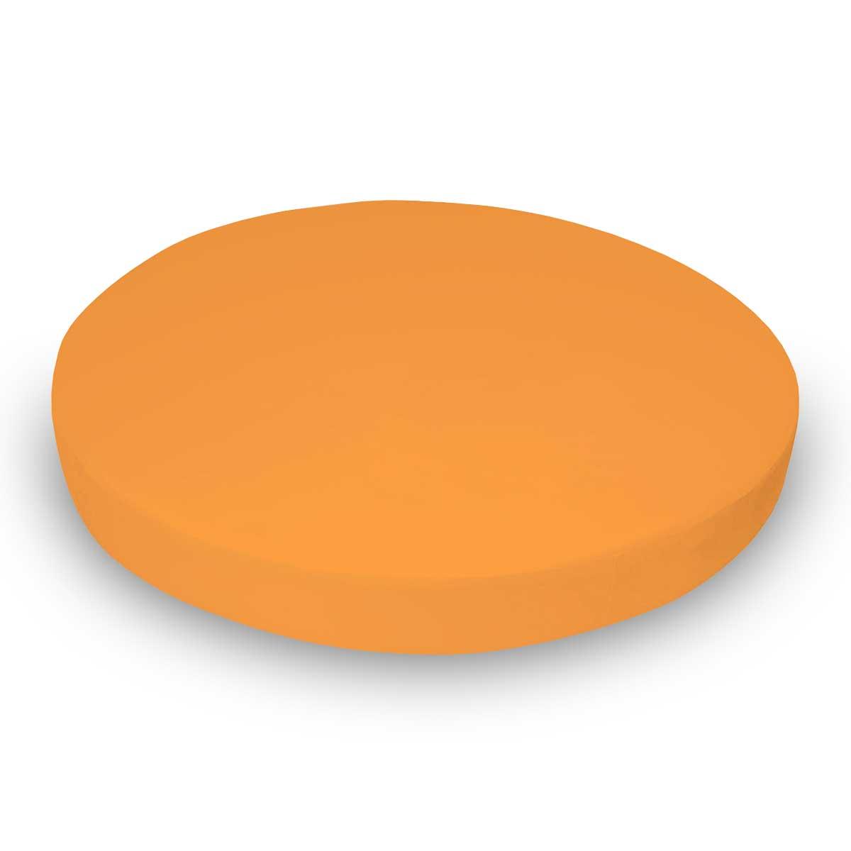 Solid Orange Jersey Knit