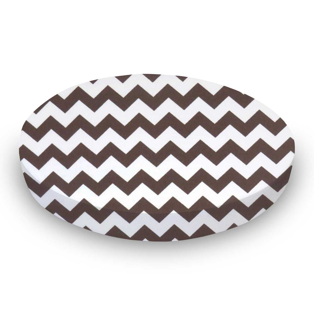 Brown Chevron Zigzag