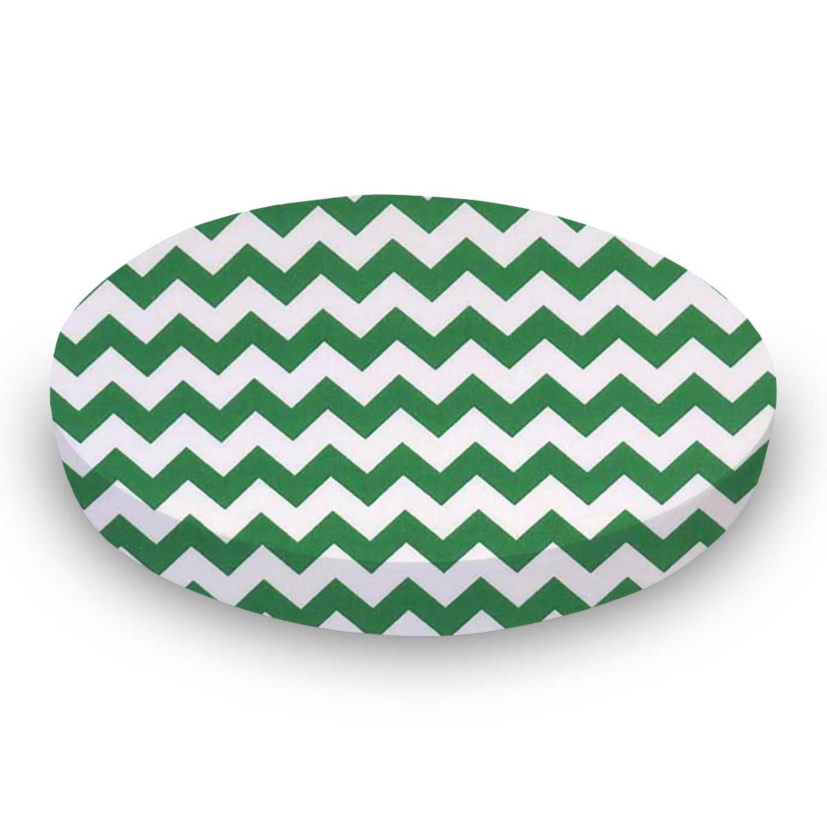 Forest Green Chevron Zigzag