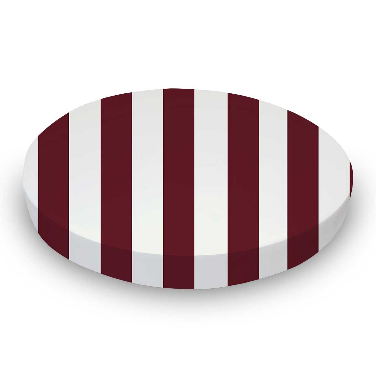 Burgundy Stripe