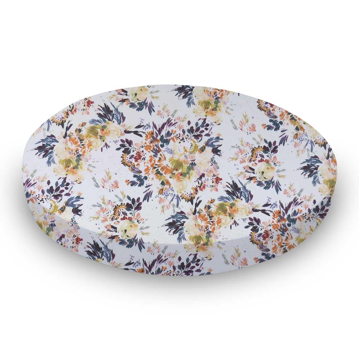 Modern Floral Garden Cream