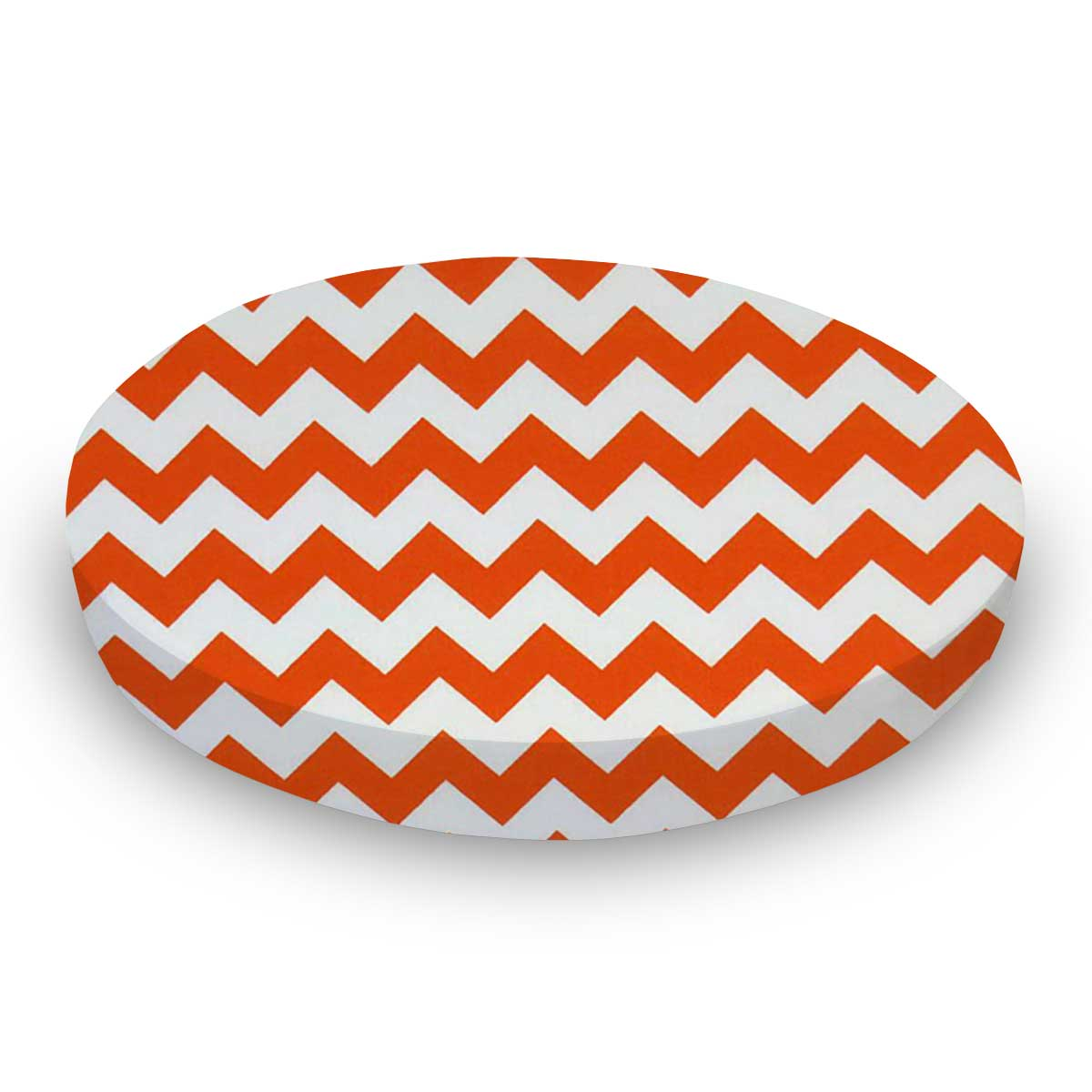 Orange Chevron Zigzag