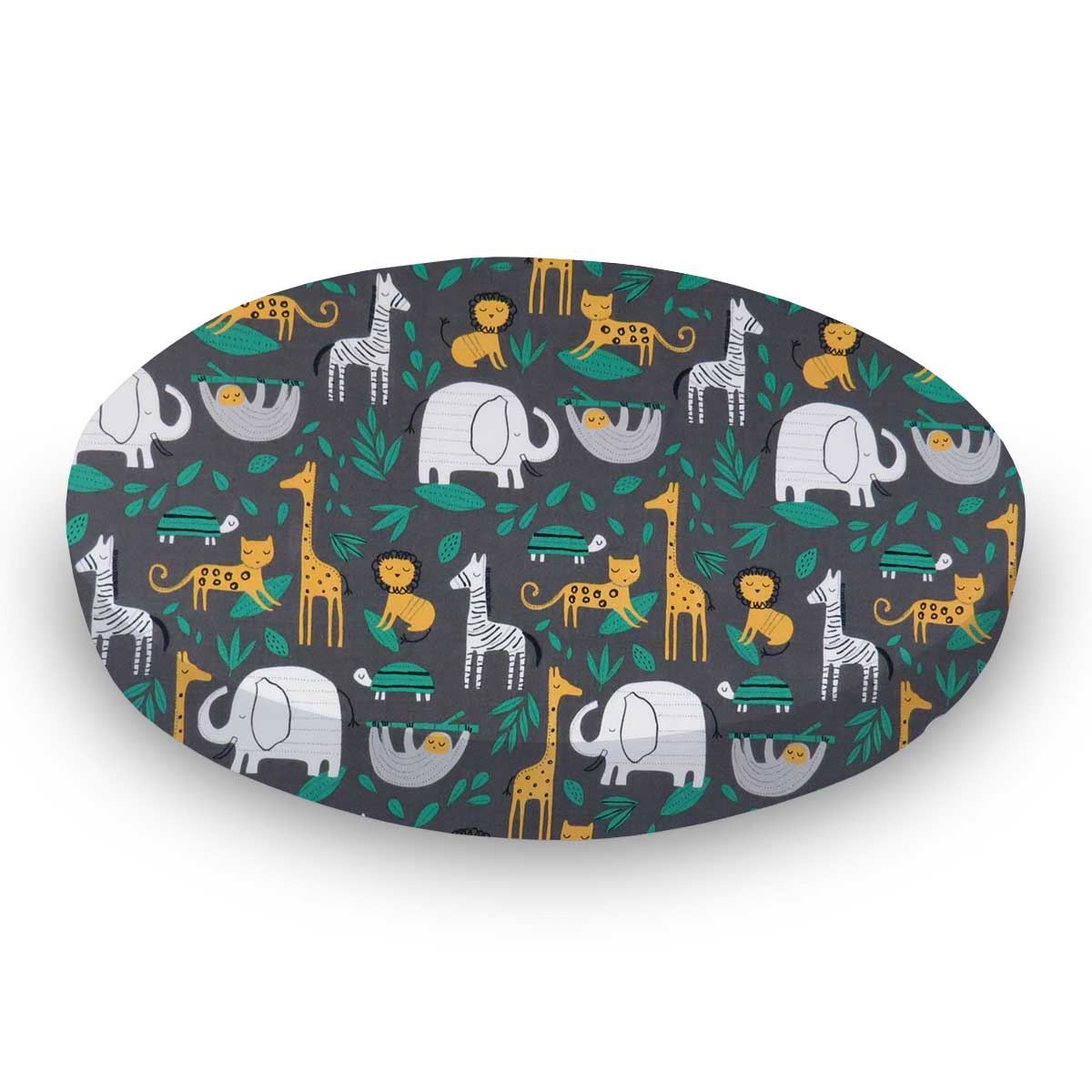 Jungle Animals Gray