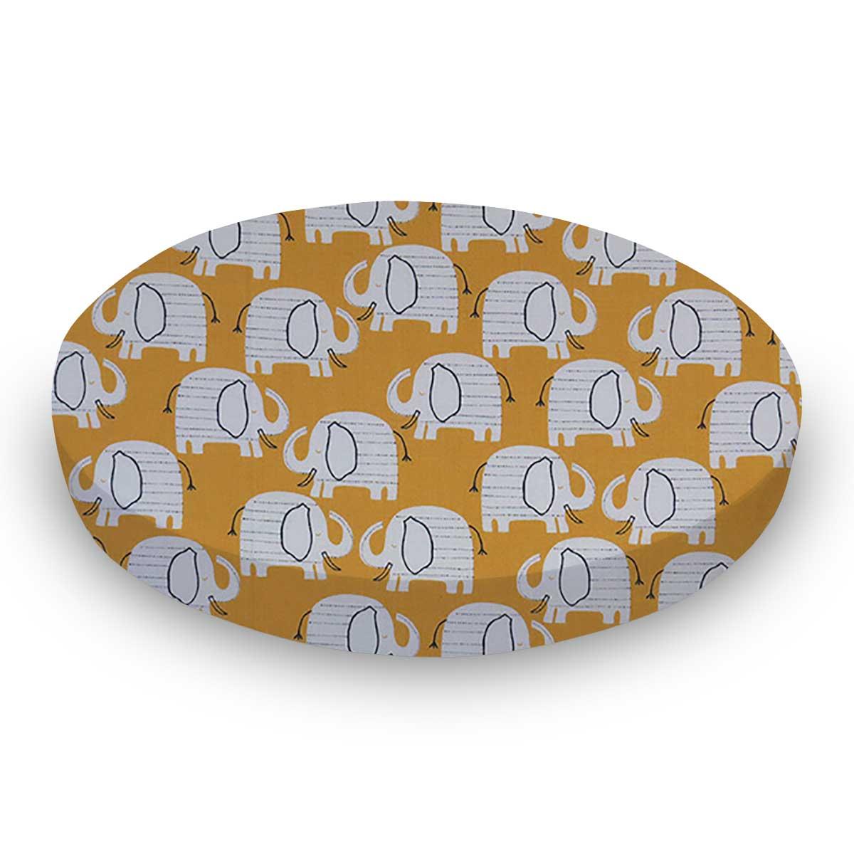 Baby Elephants Yellow
