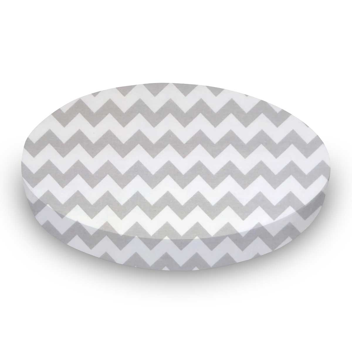 Grey Chevron Zigzag