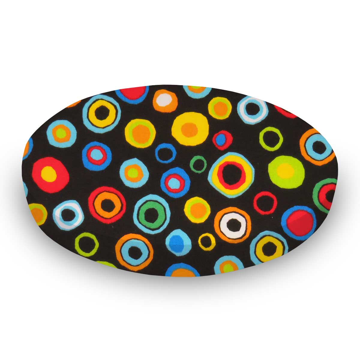 Colored Circles Black